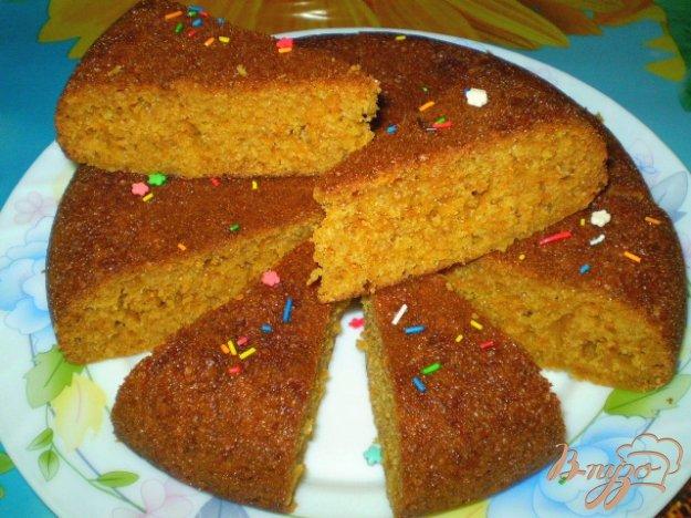 Рецепт Пирог сладкий с морковью