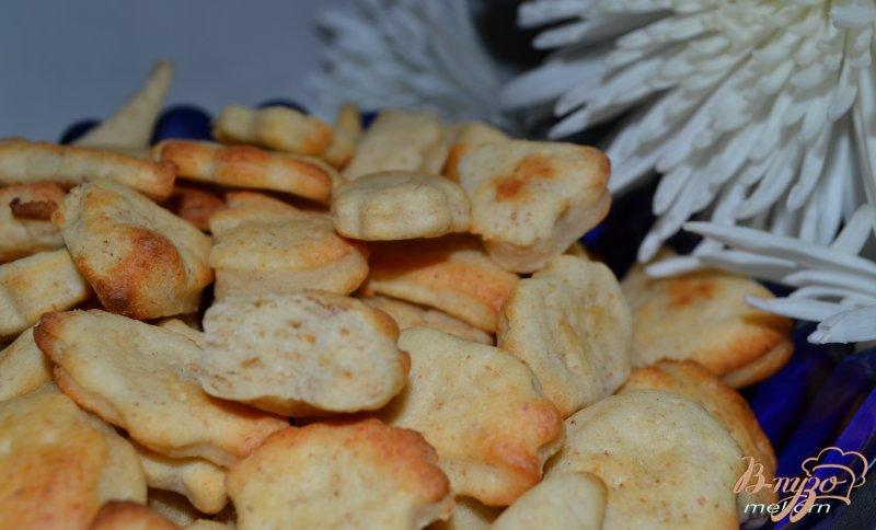Фото приготовление рецепта: Печенье - крекер шаг №4