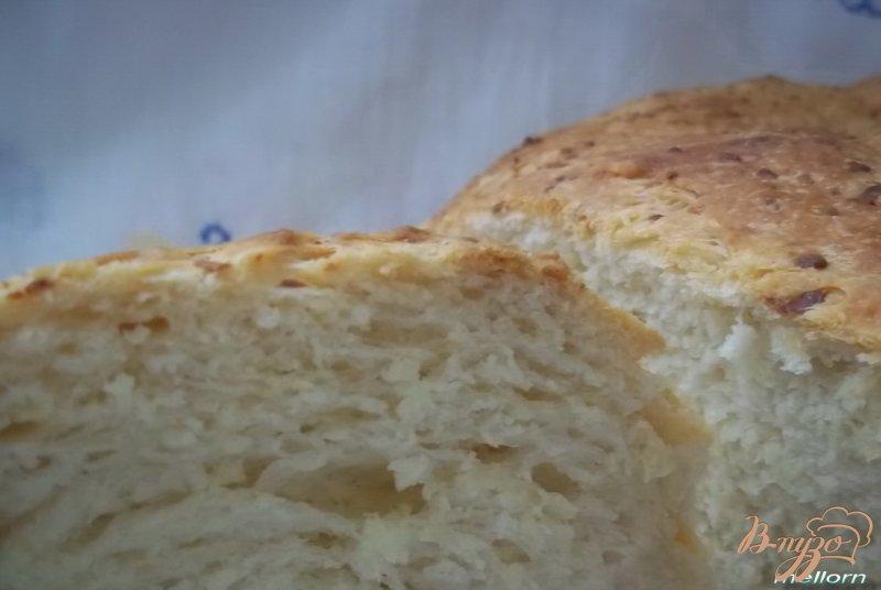 Фото приготовление рецепта: Творожно-сырная булка шаг №5