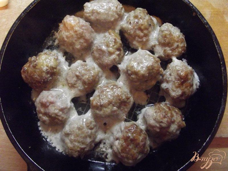 Фото приготовление рецепта: Рагу с тефтелями шаг №7
