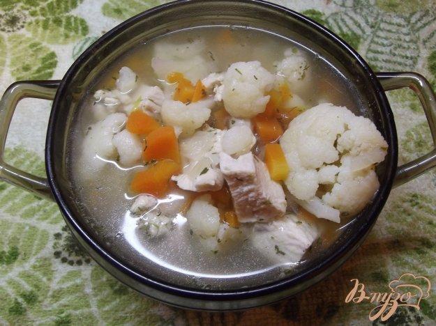 фото рецепта: Суп из цветной капусты с тимьяном