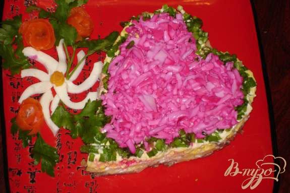 Рецепт Салат к дню Святого Валентина