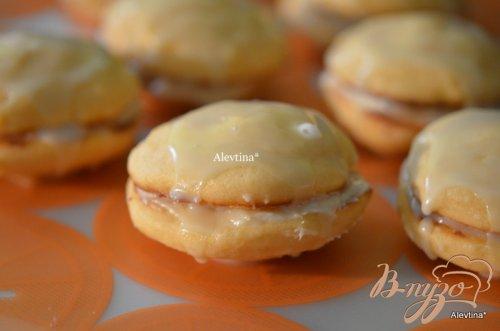 Печенье с апельсиновым вкусом