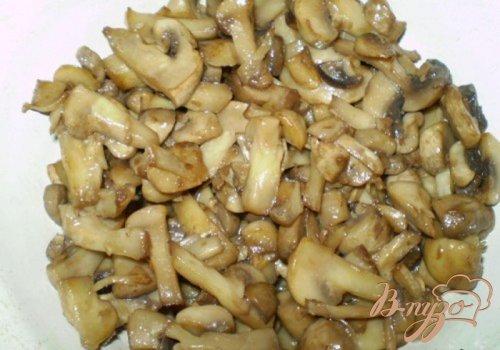 Домашнее жаркое с грибами