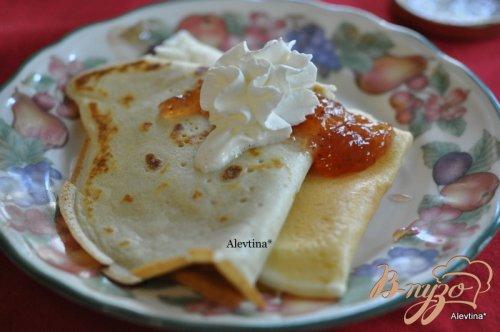 Завтрак с блинами