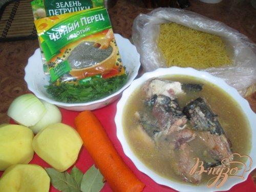 Рыбный суп из сардин