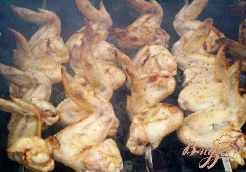 Куриные крылья на кефире