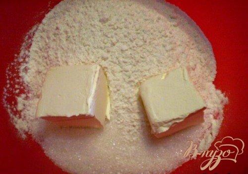 Клубничное печенье