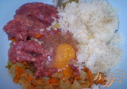 Картофельные корзинки с мясом и овощами