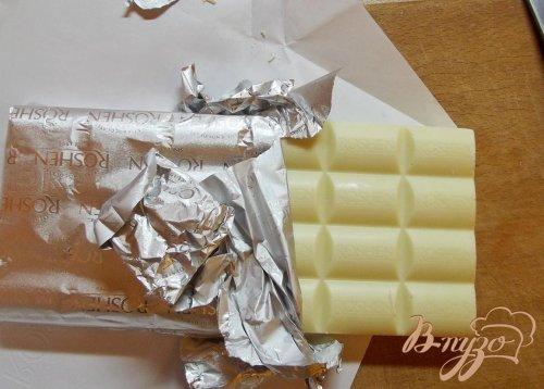 Крем заварной с белым шоколадом
