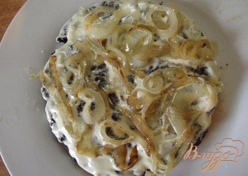 Печеночный торт с лимоном