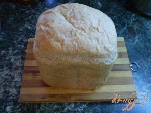 Льняной хлеб из хлебопечки