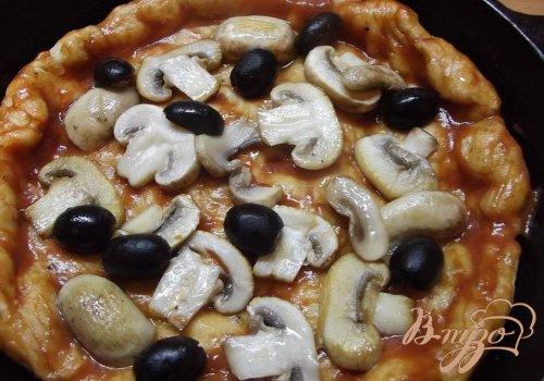 Заливная пицца