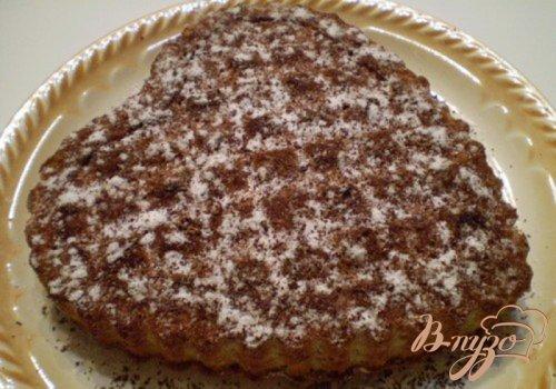 Пирог с тертой айвой