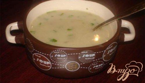 Грибной молочный суп- пюре