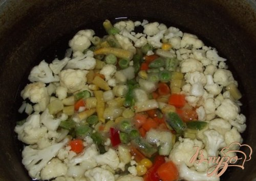 Суп из овощей аль денте