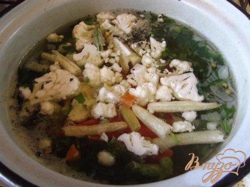 Суп с бобовыми