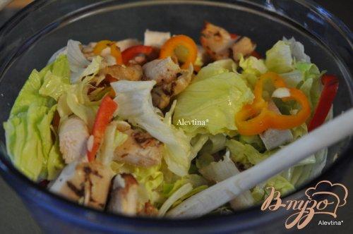 Испанский куриный салат