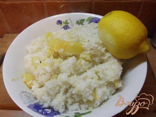 Рис с лимоном и овощами