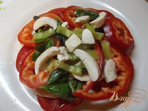 Салат овощной порционный