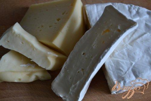 Сырный соус с рукколой