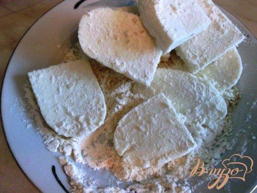 Жаренный адыгейский сыр