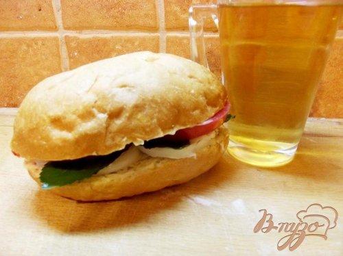 Сэндвич куриный с мятой