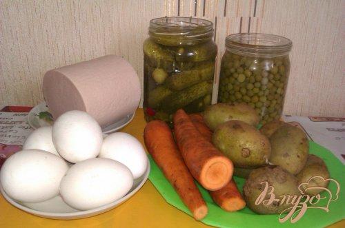 Оливье с морковью