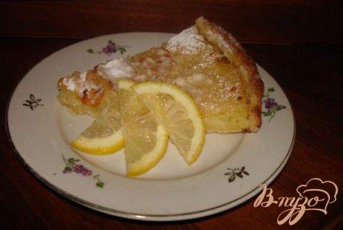 """Пирог """"Лимонное чудо"""""""