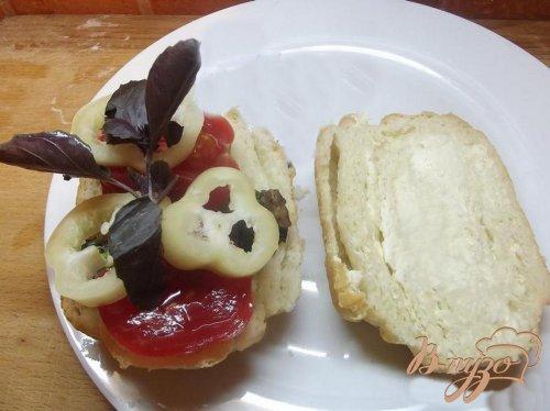 Кавказский сэндвич с бараниной