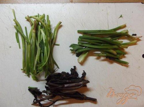 Баранина в овощном бульоне