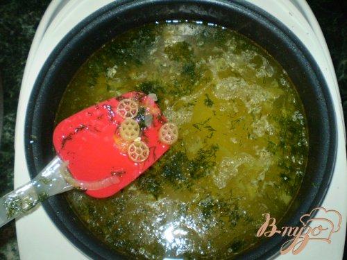 Макаронный суп
