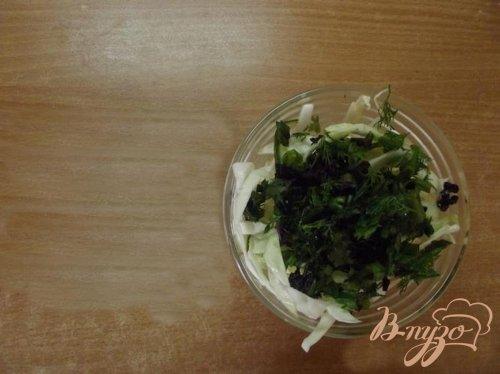 Французский капустный салат