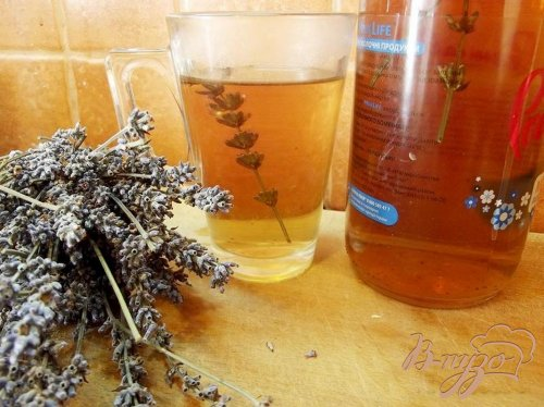 Чайный напиток с лавандой