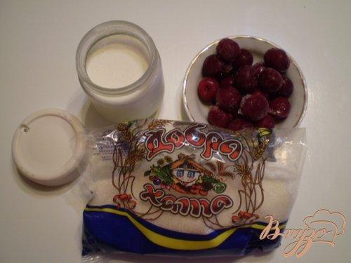 Вишневый йогурт