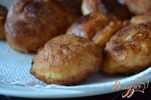 Дрожжевые пончики на йогурте