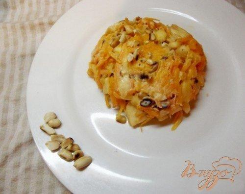 Салат из тыквы с арахисом