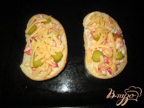 Горячий бутерброд по-итальянски