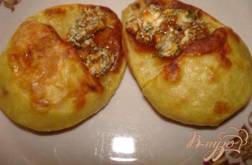 Картофельные лапатушки с селедкой