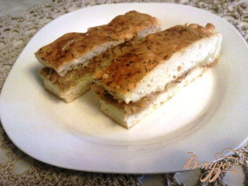 Пирог с капустой и оливками