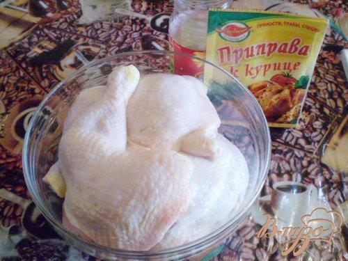 Быстрая курица на сковороде