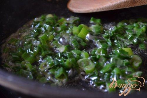 Блинные пирожки с яйцом и зеленым луком