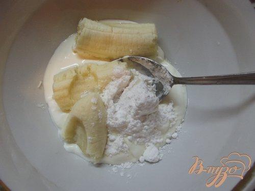 Пирог с банановым кремом