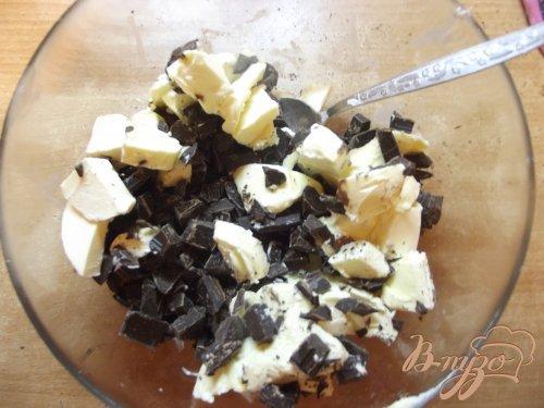 Шоколадные брауни с изюмом