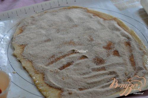 Сладкий десертный хлеб кусочками