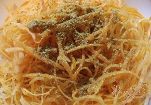 Домашняя морковка по-корейски