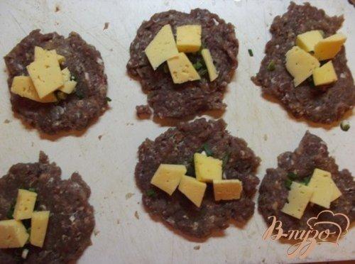 Котлеты с сыром и зеленью