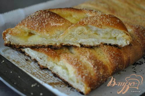 Плетеный лимонный хлеб