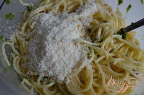Закуска из спагетти