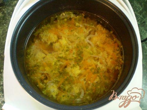 Суп с рыбной икрой